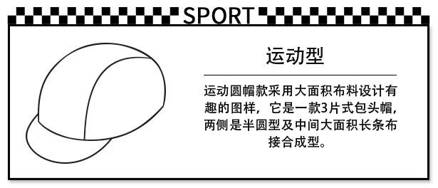 Sport Cap Template